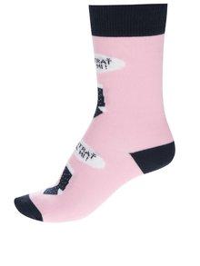 Ružové dámske ponožky ZOOT Originál