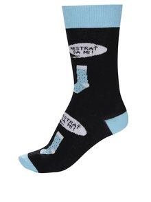 Modro-čierne pánske ponožky ZOOT Originál