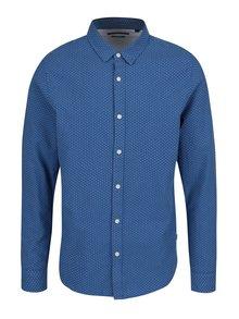 Modrá slim fit košeľa ONLY & SONS Conraad