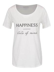 Krémové tričko s potiskem VILA States