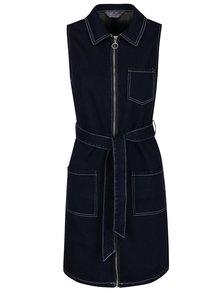 Tmavě modré džínové šaty Dorothy Perkins