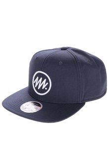 Șapcă snapback albastru închis Jack & Jones Circle din bumbac cu logo în relief
