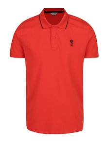 Červené polo triko Jack & Jones Stone