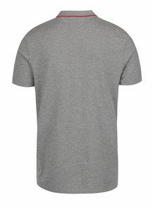Světle šedé polo tričko Jack & Jones Stone
