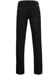 Blugi negri slim fit Jack & Jones Glenn
