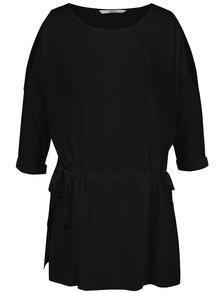 Bluză neagră ONLY Brier cu șnur