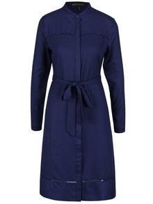 Tmavomodré šaty Mela London