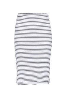Modro-bílá pruhovaná sukně VERO MODA Ebru