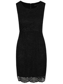 Černé krajkové šaty Mela London