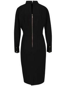 Čierne šaty s rolákom Closet