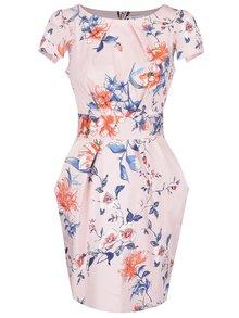 Modro-ružové kvetinové šaty Closet