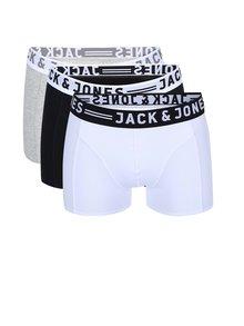 Set de trei perechi de boxeri Sense de la Jack & Jones