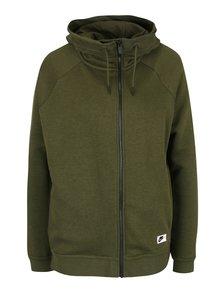 Hanorac verde Nike Sportswear Modern Cape cu fermoar