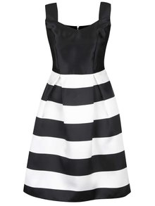 Rochie negru&alb cu model în dungi Dorothy Perkins