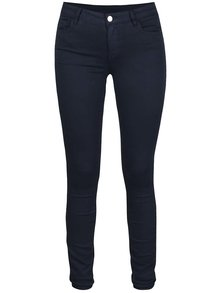 Pantaloni bleumarin slim fit VILA Commit