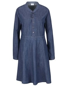 Tmavě modré džínové šaty VILA Liny