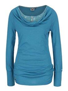 Bluză turcoaz Ragwear Zimt cu aspect 2 în 1