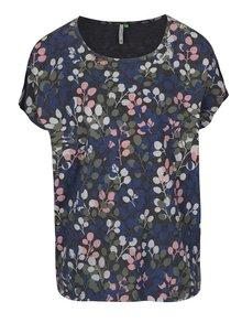 Tmavosivé dámske tričko s potlačou Ragwear Hipe B Organic
