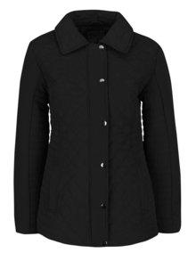 Čierna dámska prešívaná bunda M&Co