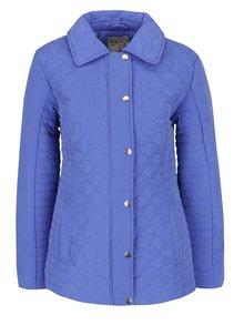 Modrá dámska prešívaná bunda M&Co