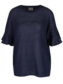 Bluză oversized bleumarin VERO MODA Nana