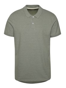 Tricou polo Selected Homme Aro verde