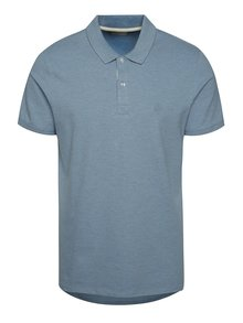 Tricou polo Selected Homme Aro albastru