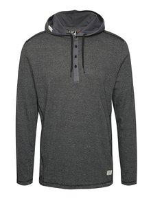 Čierne pánske tričko s kapucňou Ragwear Fall