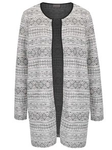 Cardigan bej VERO MODA Tiggy cu model