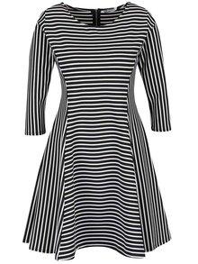 Rochie alb & negru ZOOT cu model în dungi