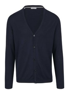 Cardigan bleumarin Selected Homme Seb