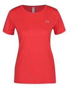 Červené dámské funkční tričko Under Armour HG Armour SS
