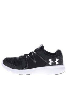 Pantofi sport negri Under Armour Thrill 2 cu detalii negre și logo