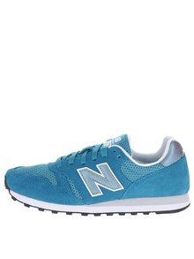 Modré dámské semišové tenisky New Balance