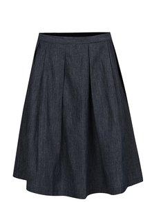 Tmavě modrá áčková džínová sukně Tranquillo Brinja