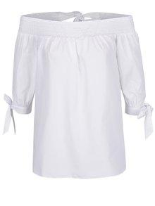 Bluză albă Miss Selfridge cu decolteu pe umeri