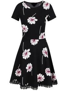 Rochie neagră Dorothy Perkins cu model floral