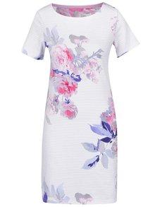 Bílé pruhované šaty s motivem květin Tom Joule Riviera Print