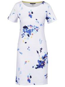 Bílé šaty s motivem květin Tom Joule Riviera Print