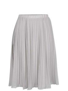 Sivá plisovaná sukňa Broadway Callie