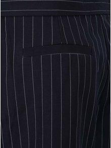 Pantaloni negri cu model in dungi verticale Broadway Ellar
