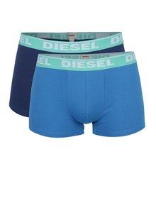 Set albastru Diesel cu două perechi de boxeri