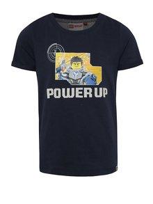Tricou bleumarin LEGO Wear Teo cu imprimeu pentru băieți