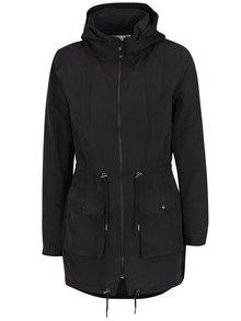 Jachetă parka subțire neagră ONLY Starry