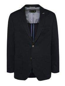 Tmavě modré pánské sako bugatti