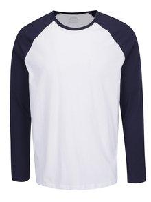 Modro-bílé triko Burton Menswear London