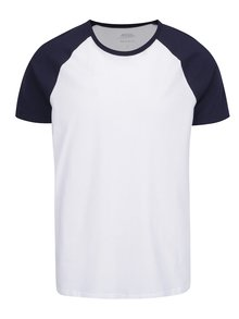 Modro-biele pánske tričko Burton Menswear London