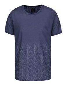 Tricou albastru închis Burton Menswear London cu model