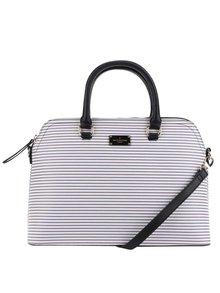 Černo-krémová pruhovaná kabelka Paul's Boutique Maisy