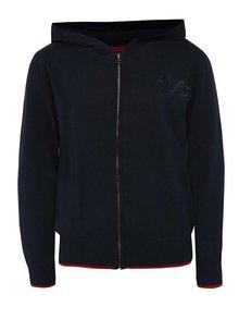 Tmavomodrý chlapčenský sveter s kapucňou 5.10.15.